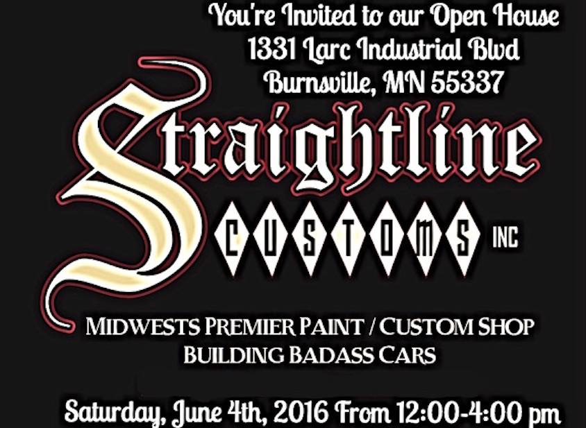 Straight Stitch Auto Upholstery invites you to attend our open house & customer appreciation on June 4, 2016 at 12:00-4:00 pm.  Bring your classic, muscle or hot rod along with your family & friends.  No car no problem; come and see the cars our team have built.  There will be a BBQ & Bad Ass Cars!  We hope to see familiar faces along with new faces!